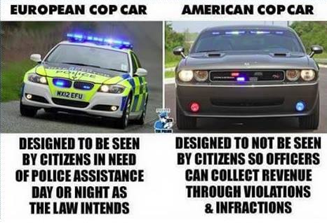 Police Vehicles Comparison